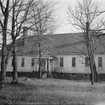 Black and white photo of Scotchtown Plantation