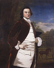 A ghostly William Byrd III portrait from 1700's