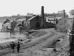 Tredegar Iron works a ghostly part of Oregon Hill